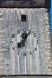 Igreja doze horas e cinco minutos Imagem de Stock Royalty Free