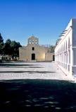 Igreja e arcada em Cachi, Salta, Argentina foto de stock