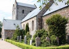 A igreja e cemitério do Aa Fotos de Stock