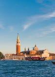 A igreja e o monastério em San Giorgio Maggiore Imagens de Stock Royalty Free