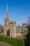 Igreja e steeple Fotografia de Stock Royalty Free