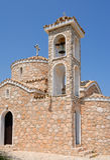 Igreja e torre de Bell Imagens de Stock