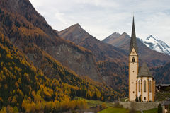 Igreja em Áustria Fotografia de Stock Royalty Free