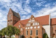 Igreja em Ahus fotografia de stock royalty free