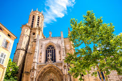 Igreja em Aix-en-Provence Fotografia de Stock Royalty Free