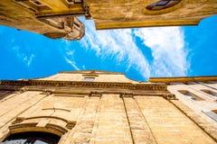 Igreja em Aix-en-Provence Foto de Stock