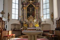 Igreja em Alemanha sul imagens de stock