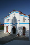 Igreja em Andros Foto de Stock