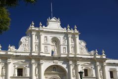 Igreja em Antígua, Guatemala Fotografia de Stock Royalty Free