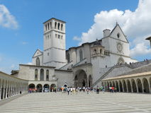 Igreja em Assisi Fotografia de Stock Royalty Free