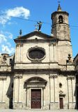 Igreja em Barcelona Imagens de Stock