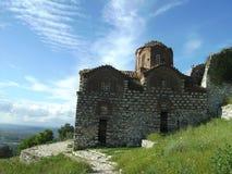 Igreja em Berat, Albânia Foto de Stock Royalty Free