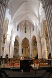 Igreja em Bruxelas no lugar Flagey Foto de Stock Royalty Free