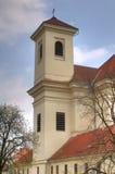 Igreja em Bucovice, república checa Imagem de Stock Royalty Free