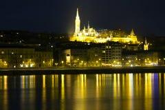 A igreja em Buda, Budapest de Matthias, Hungria Foto de Stock Royalty Free