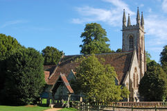 Igreja em Chawton, Hampshire de Nicholas de Saint Fotografia de Stock