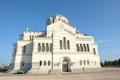 Igreja em Crimeia Imagens de Stock