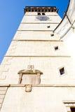 Igreja em Dacice Imagem de Stock Royalty Free
