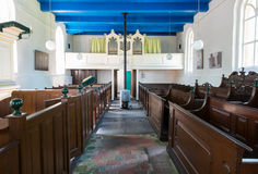 Igreja em Den Ham Fotografia de Stock Royalty Free