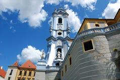 Igreja em Durnstein foto de stock royalty free