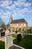 Igreja em Echten fotos de stock
