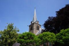 Igreja em en Rodenrijs de Berkel, os Países Baixos Imagens de Stock Royalty Free