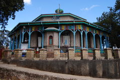 Igreja em Etiópia Imagem de Stock
