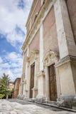 Igreja em Fabriano Itália Marche fotos de stock