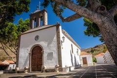 Igreja em Fataga fotos de stock