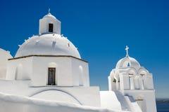 Igreja em Fira, Santorini Foto de Stock