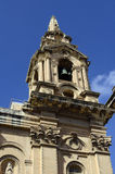 Igreja em Floriana, Valletta, Malta Fotografia de Stock