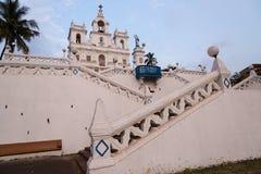 Igreja em Goa Foto de Stock