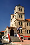 Igreja em Greece imagem de stock royalty free