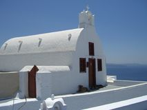 Igreja em Greece Foto de Stock Royalty Free