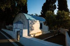Igreja em Greece Fotografia de Stock