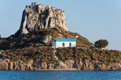 Igreja em Greece Fotos de Stock Royalty Free