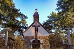 Igreja em Hungria imagem de stock