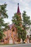 Igreja em Irkutsk, Rússia Fotografia de Stock
