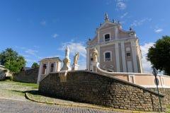 Igreja em Kamyanets-Podilsky fotos de stock royalty free