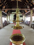 Igreja em Kerala, Índia fotografia de stock