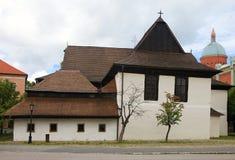 Igreja em Kezmarok imagem de stock royalty free