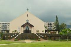 Igreja em Kona imagem de stock