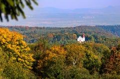 Igreja em Kvetnov - peregrinação Imagem de Stock