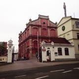 Igreja em Lublin Foto de Stock