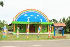Igreja em Manokwari fotografia de stock royalty free