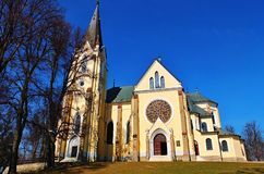 Igreja em Marian Mount Imagem de Stock