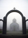 Igreja em minha vila foto de stock
