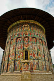 Igreja em Moldova fotografia de stock