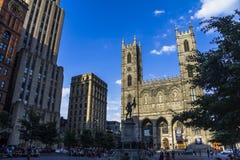 Igreja em Montreal, Canadá fotos de stock