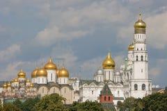 Igreja em Moscovo Kremlin. Imagens de Stock
